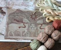 Woodland Yuletide & Floss Kit